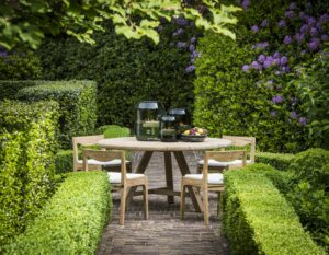 Gommaire-outdoor-teak-furniture-round_table_anton-G193-NAT-Belgium
